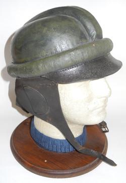 Imperial German aviator crash helmet