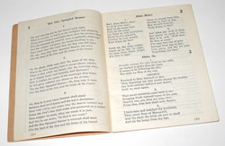 WWII US Army Song Book