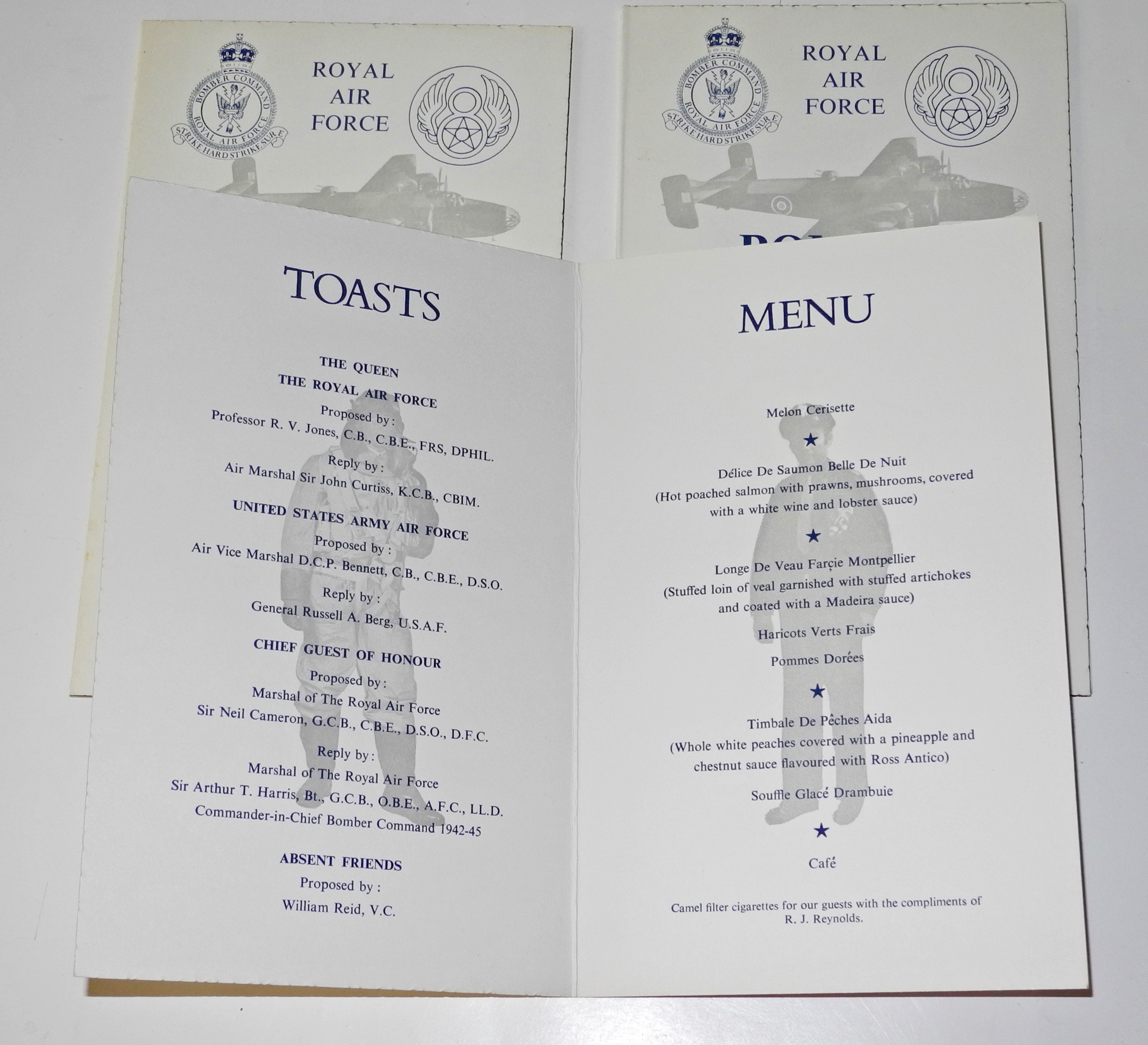 DSCN19Bomber Command dinner menus59