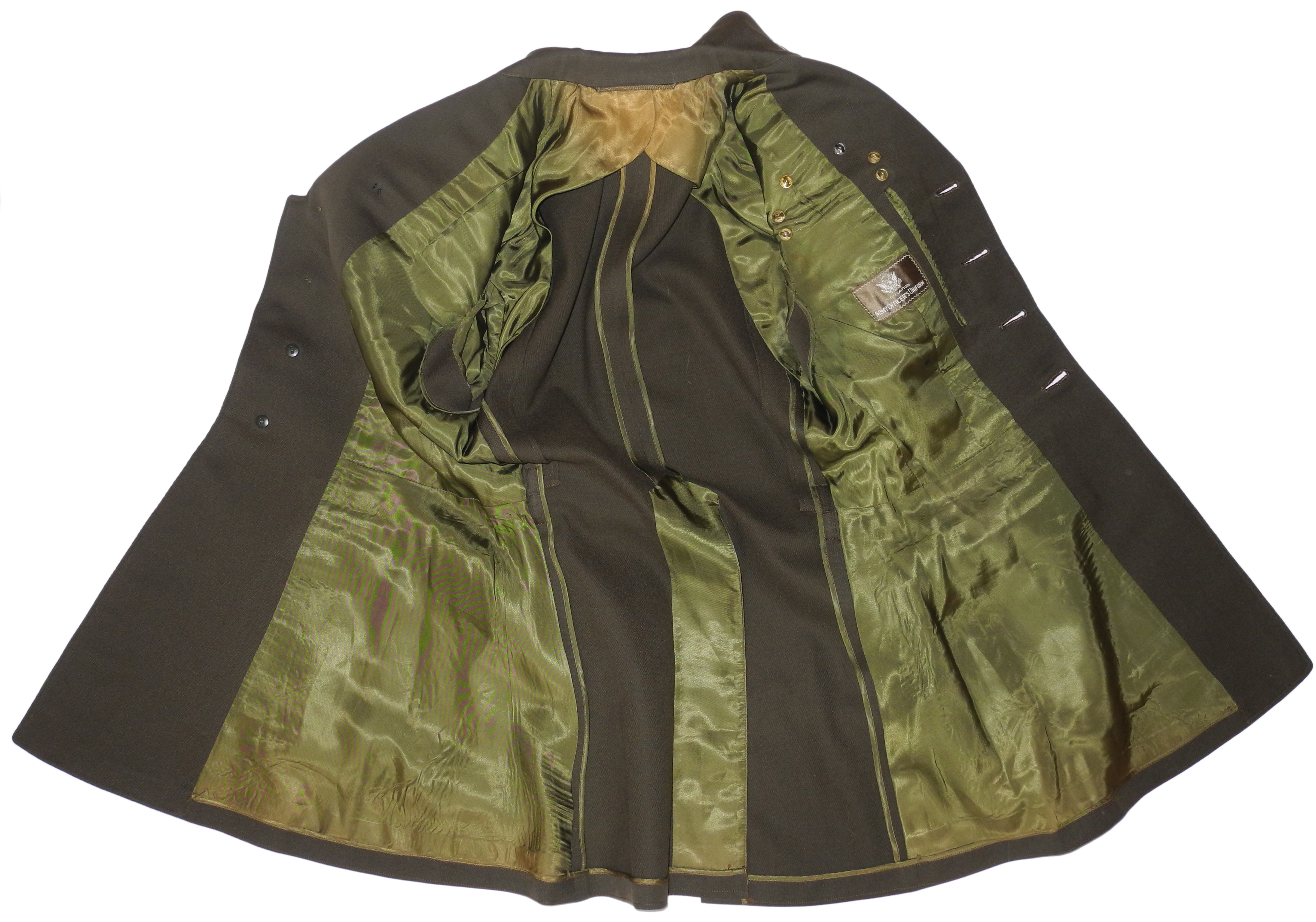 """Named AAF officer's tunic with """"Yank in the RAF"""" history"""
