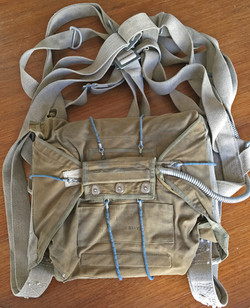 WWII USSR seat parachute