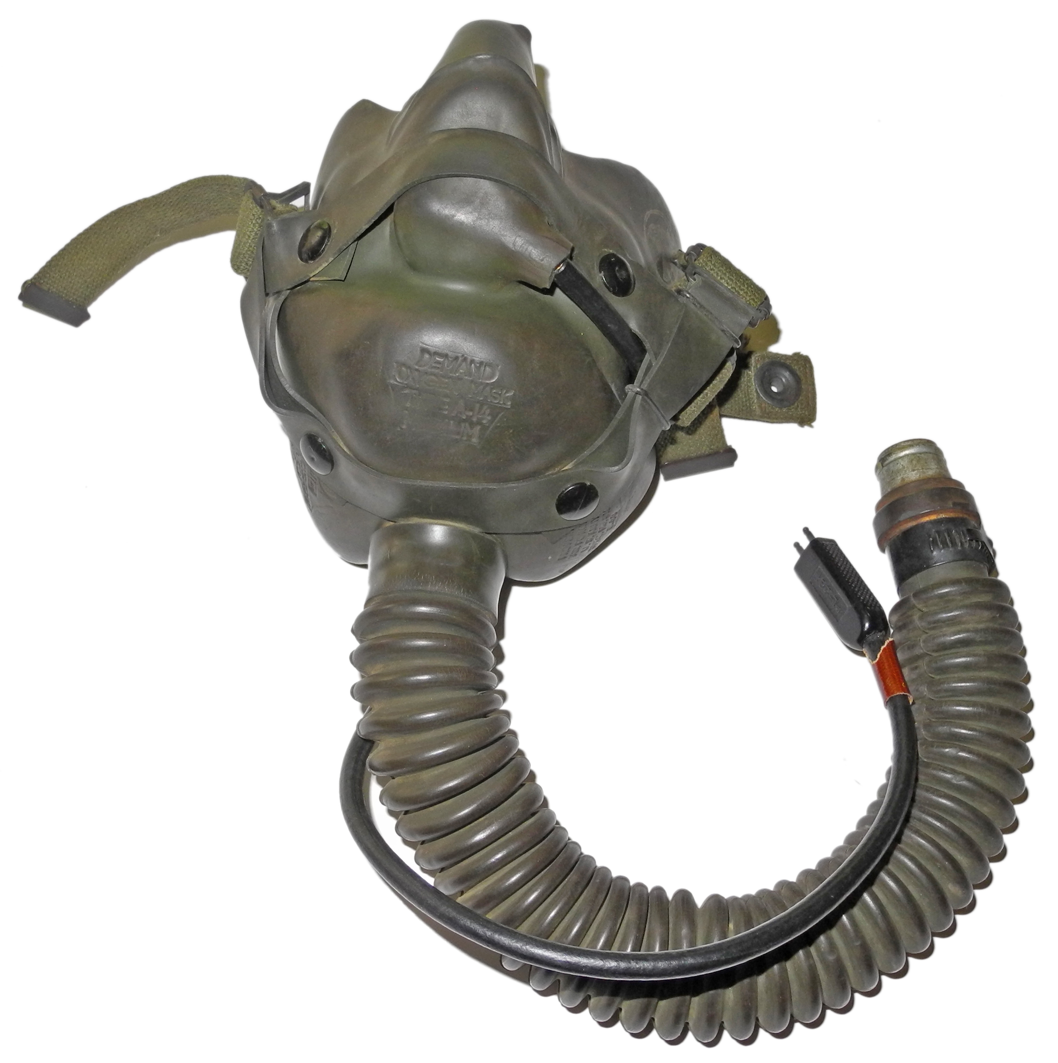 AAF A-14 mask with mic.