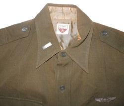 AAF Officer's wool OD shirt