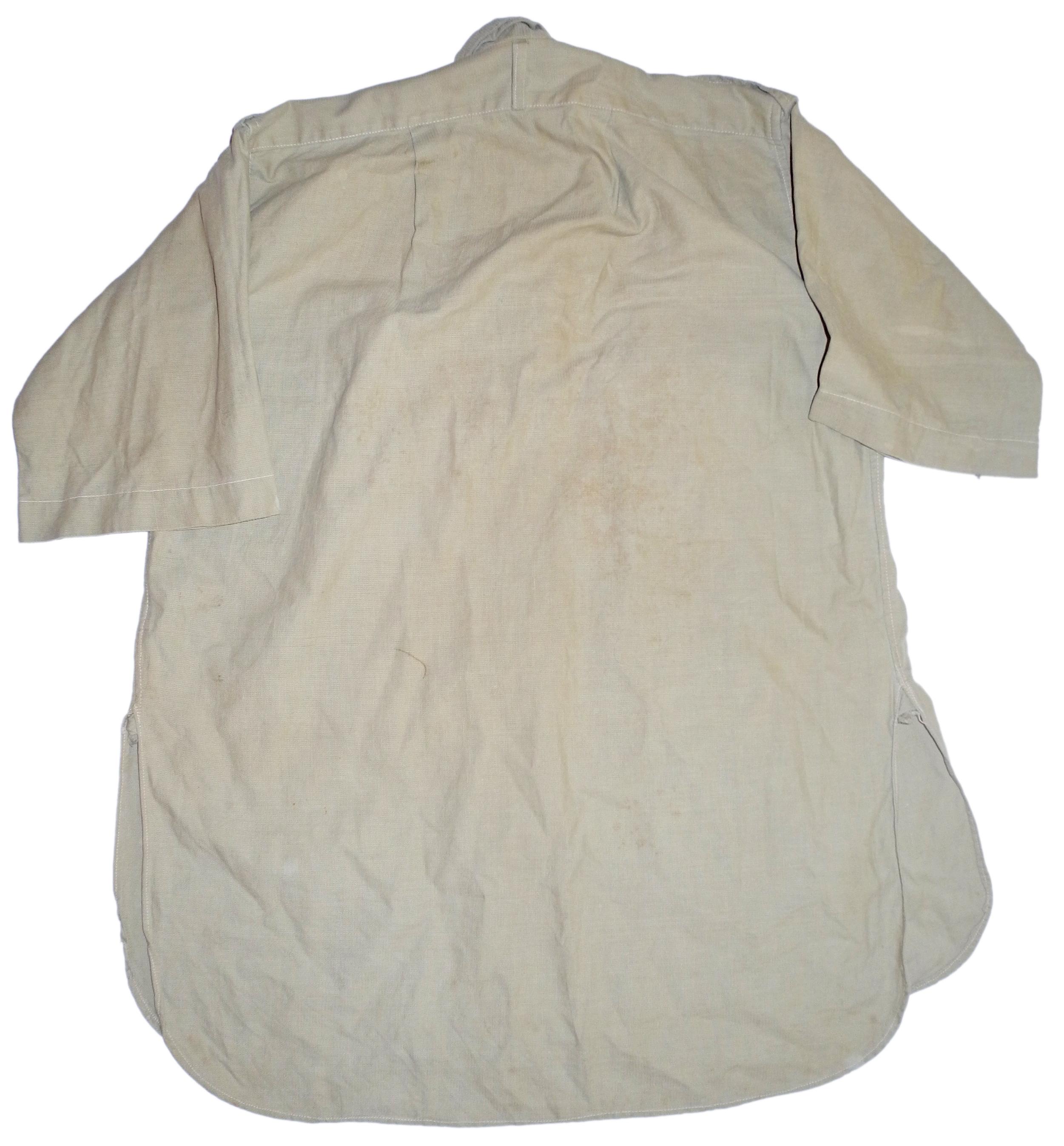 RAF / army bush shirt short-sleeved