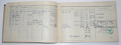 Luftwaffe flight log book to KG27