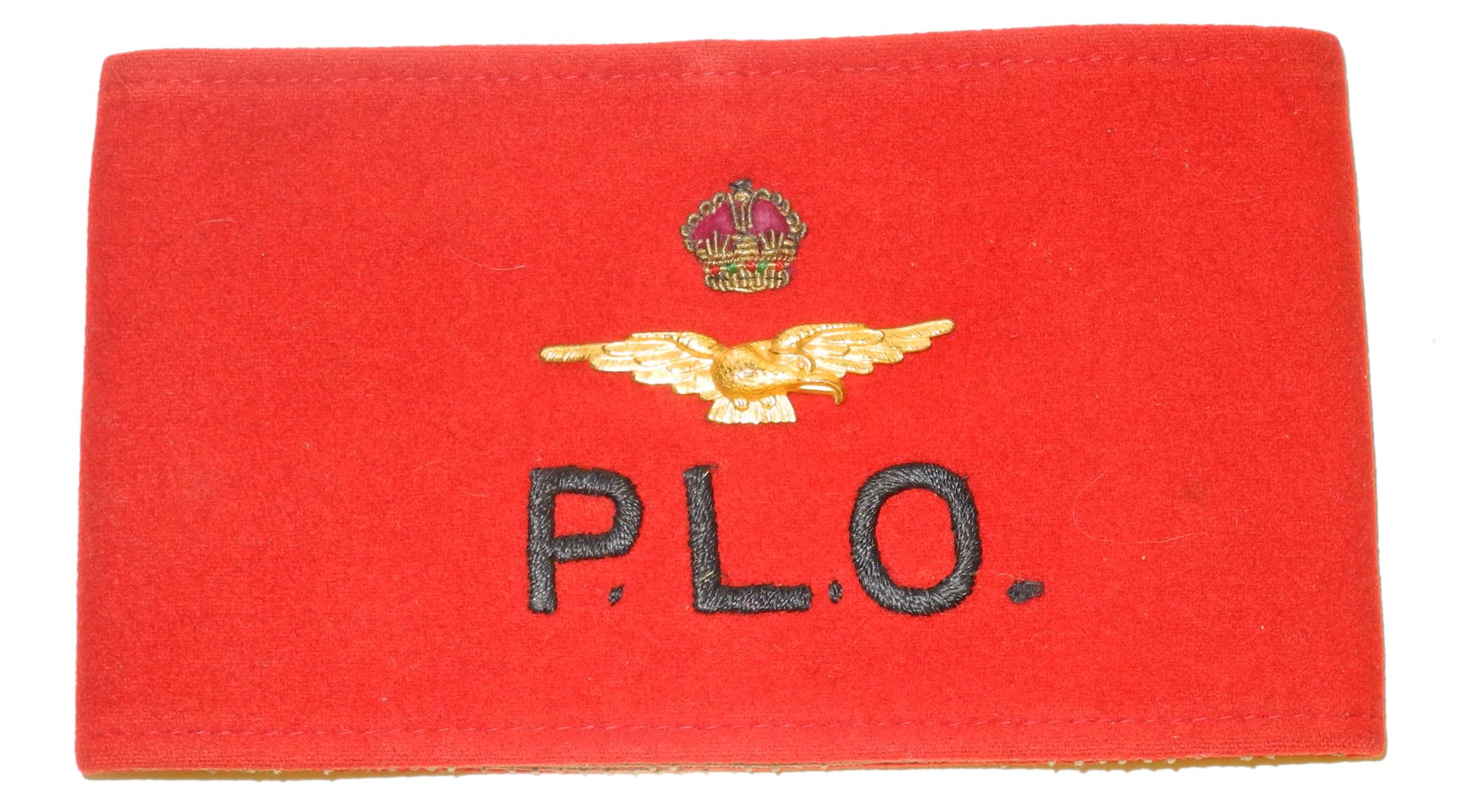 RAF/RCAF Pilot Liaison Officer armband