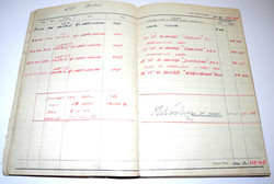RAF DFC award / log book grouping