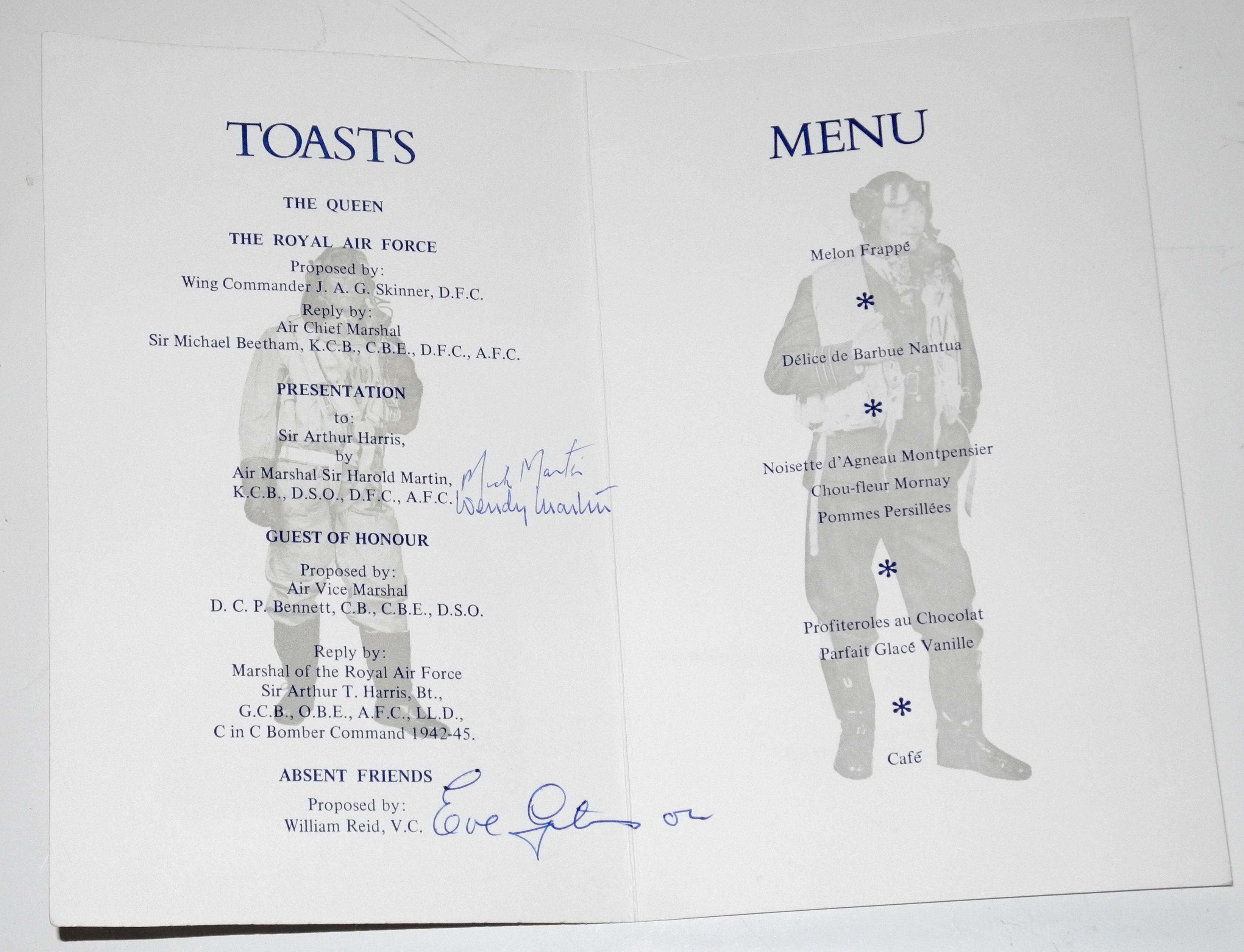 RAF Dambusters signed items3022