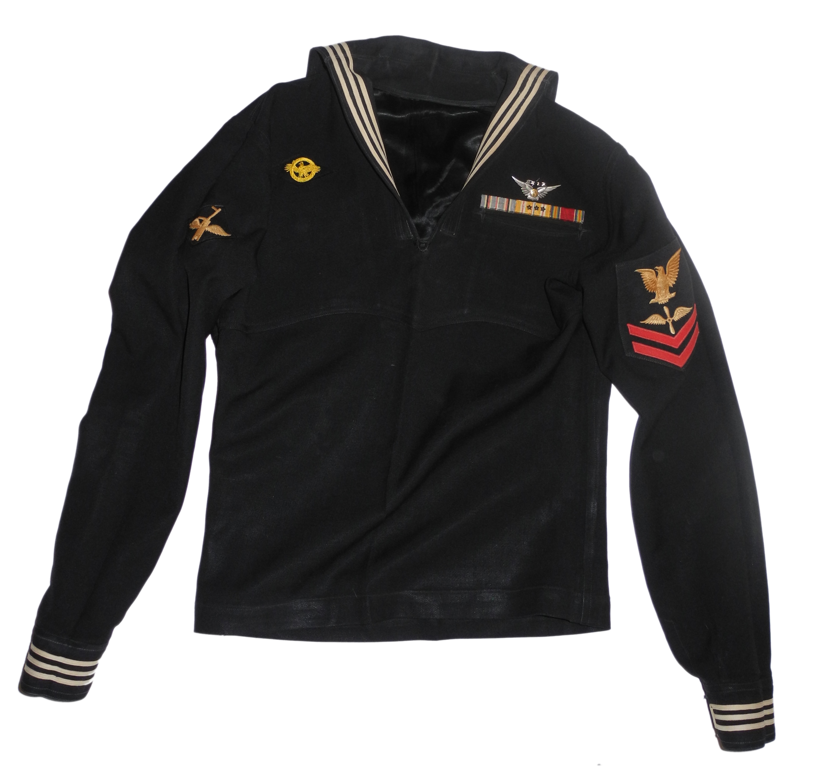 US Navy complete aircrew uniform