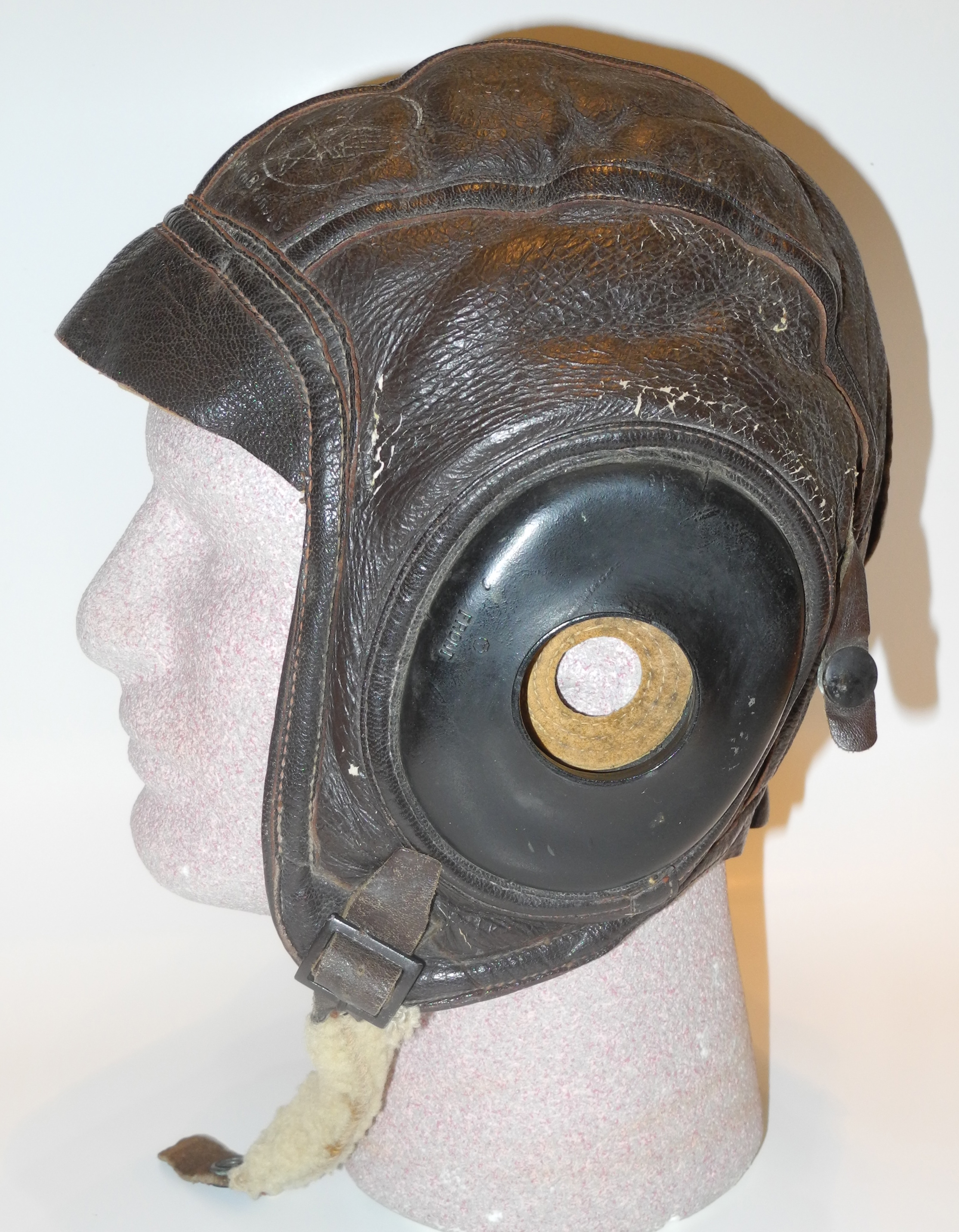38c5755cae2 AAF AN-H-16 flying helmet