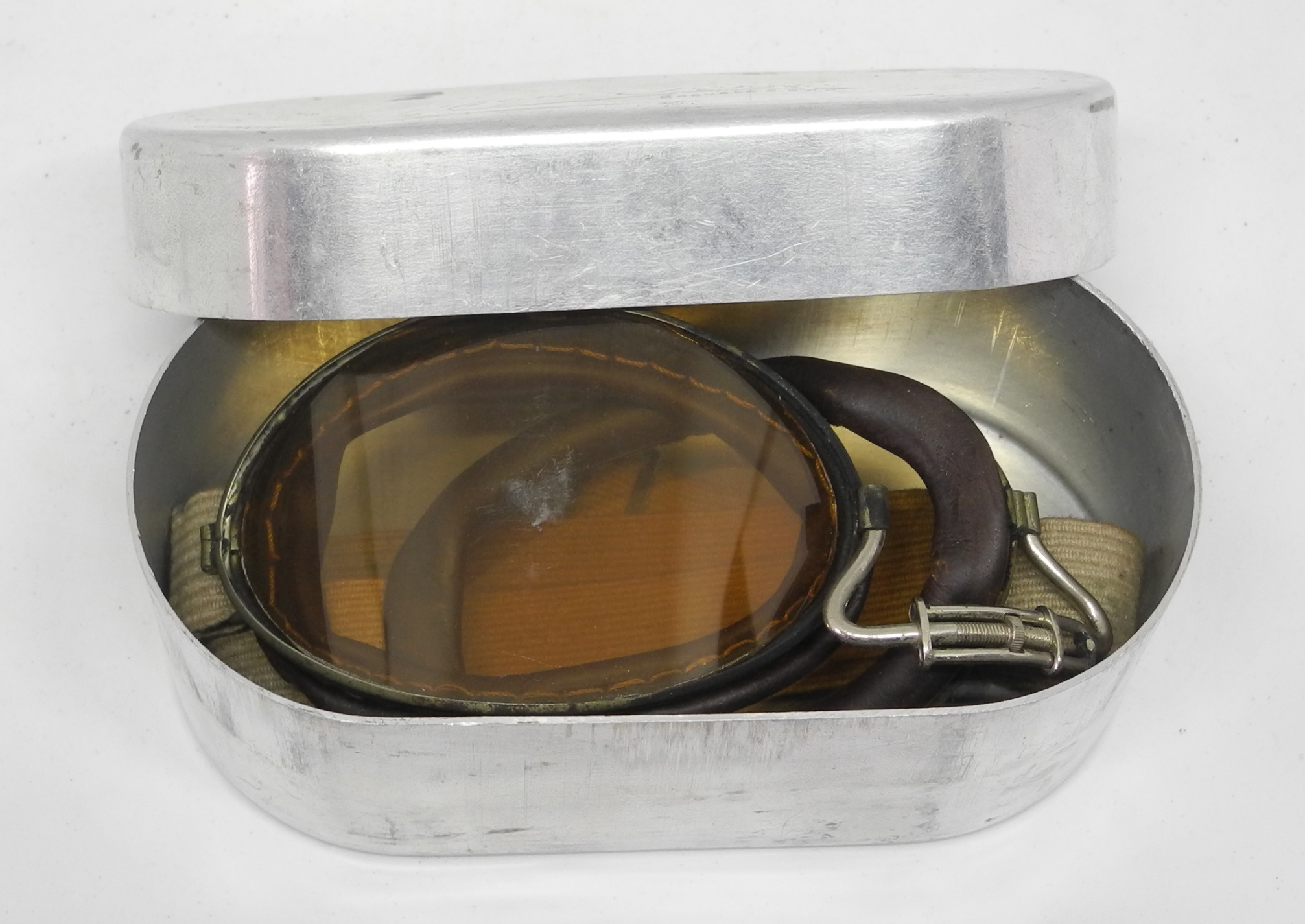 WWI French Aviator's Goggles 04