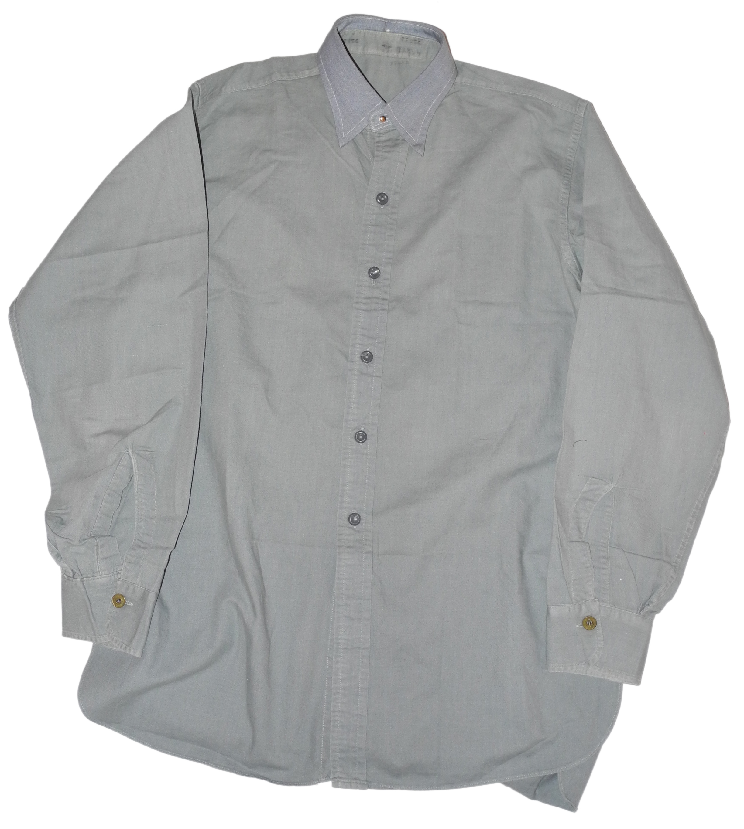 RAF shirt with collar and studs
