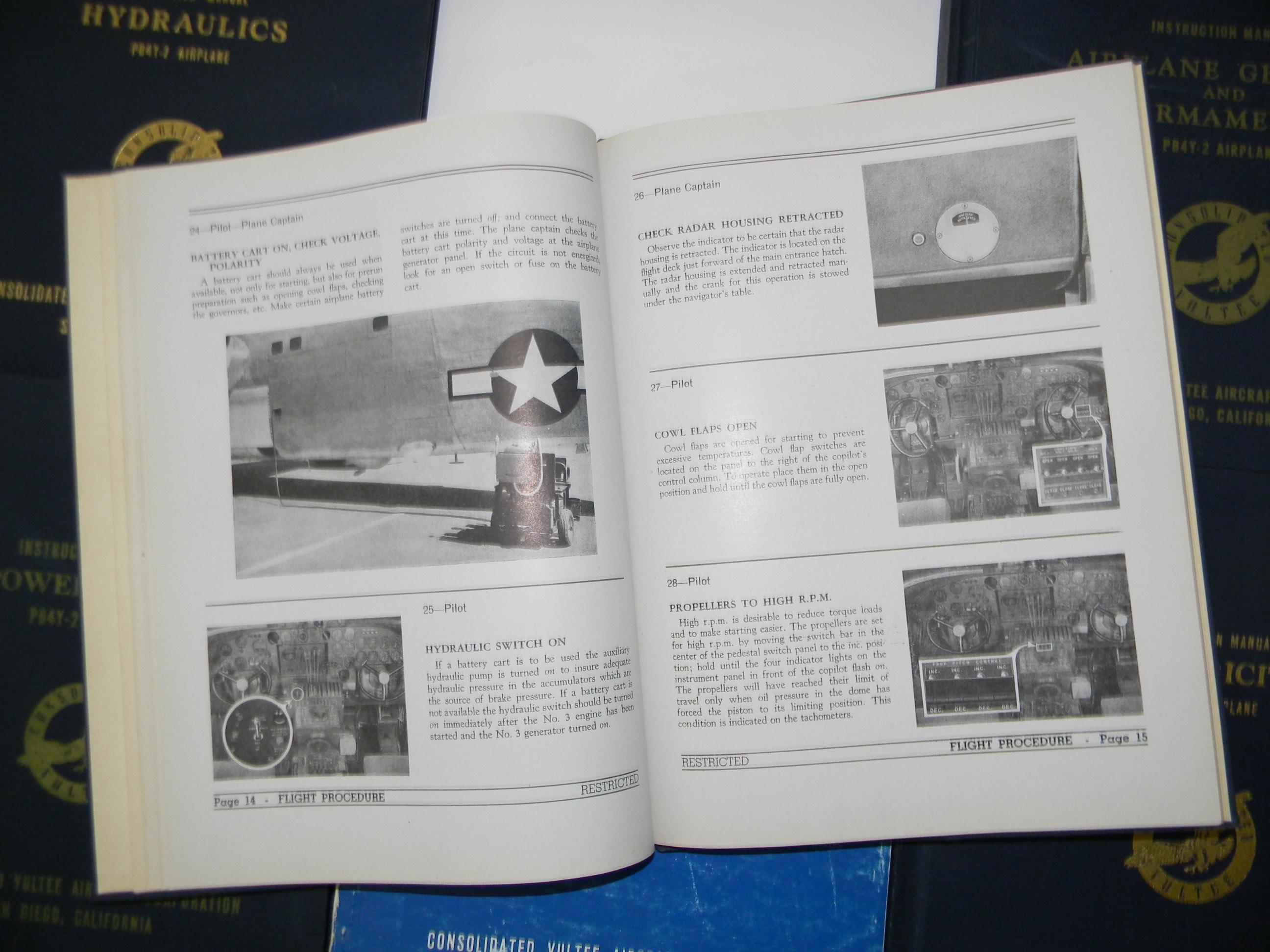 PB4Y-2 Manuals