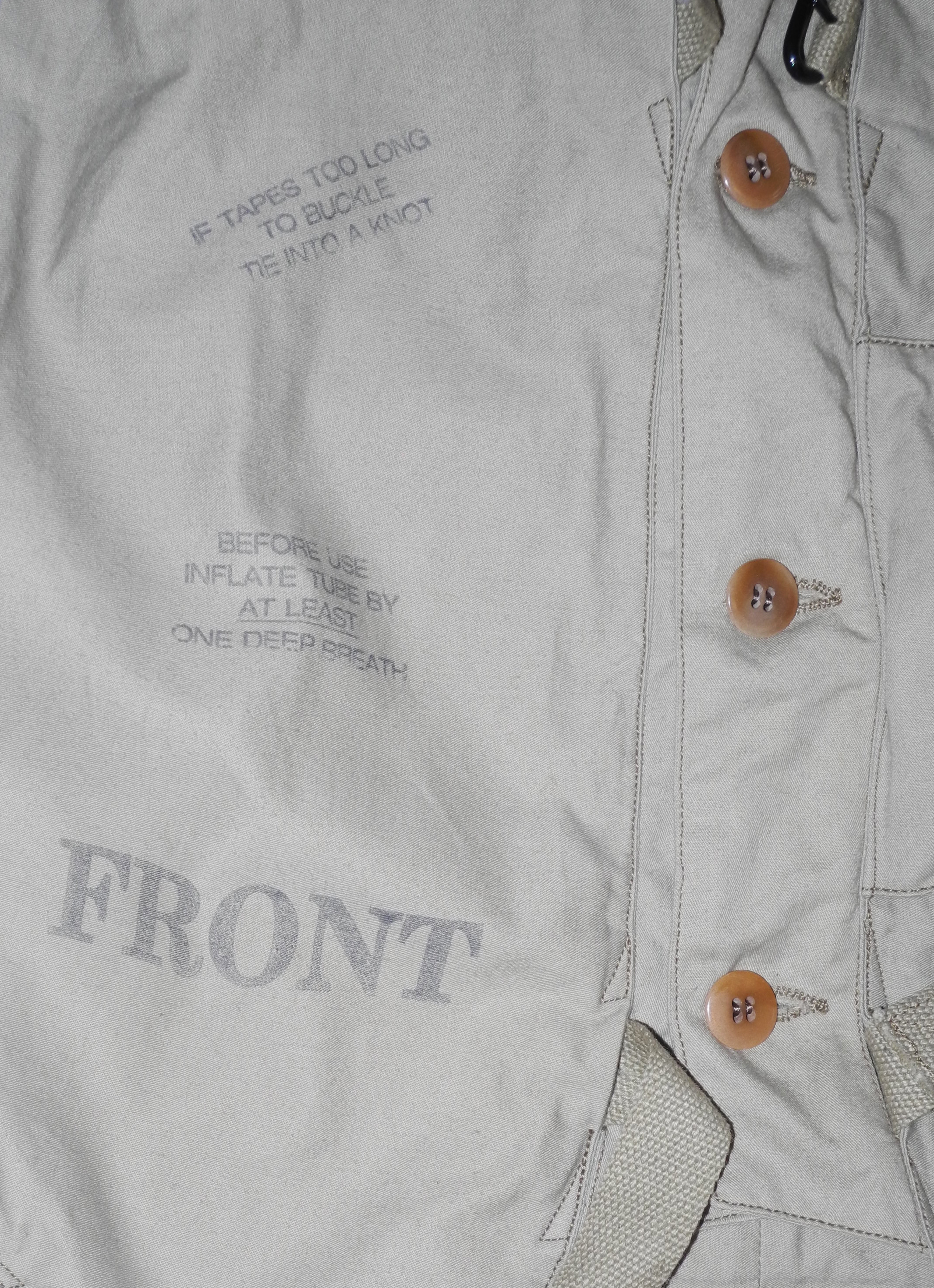 RAF 32 Pattern Life Vest (Reproduction)