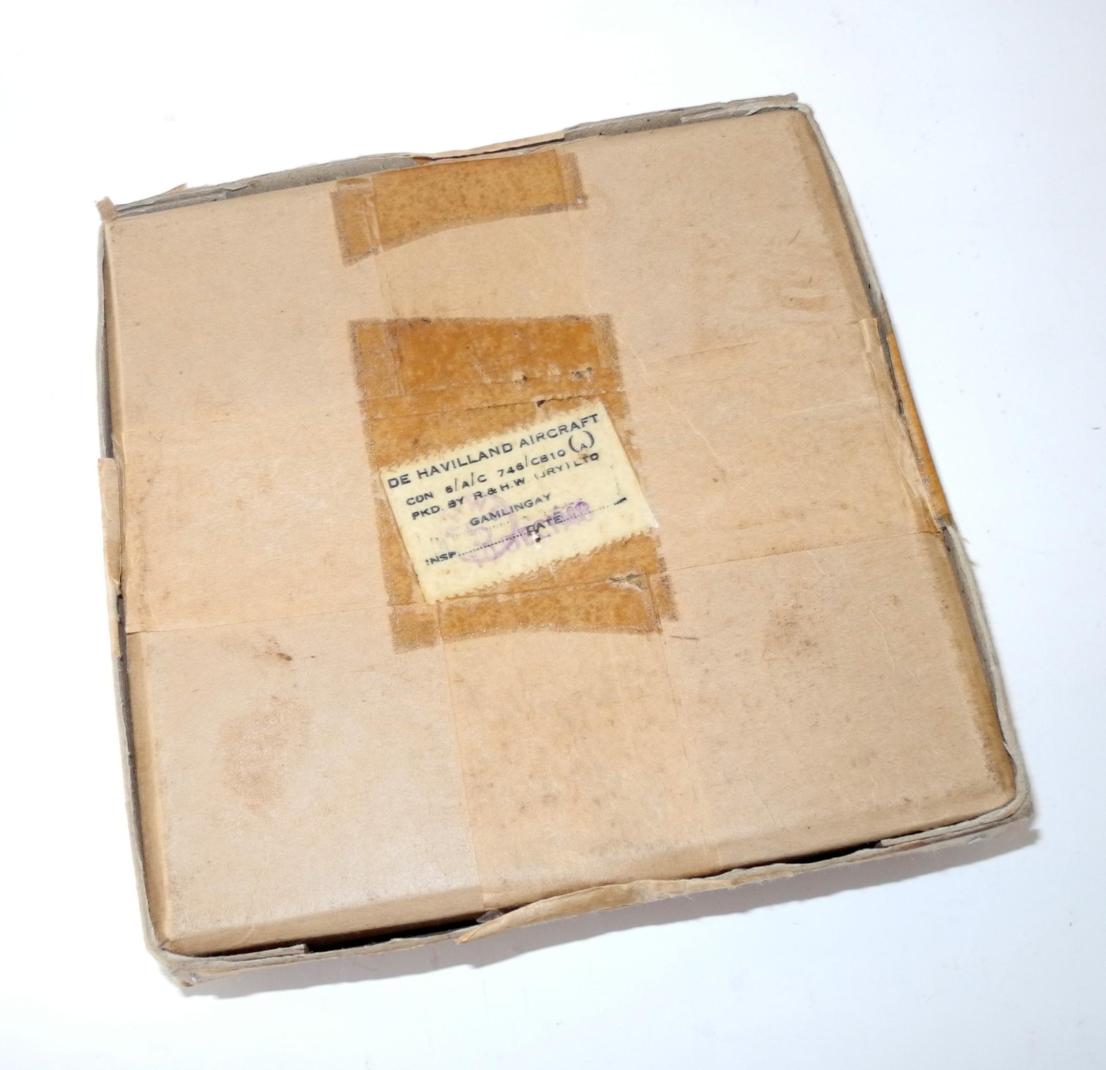 Original WWII period storage/transit boxes for RAF equipment.