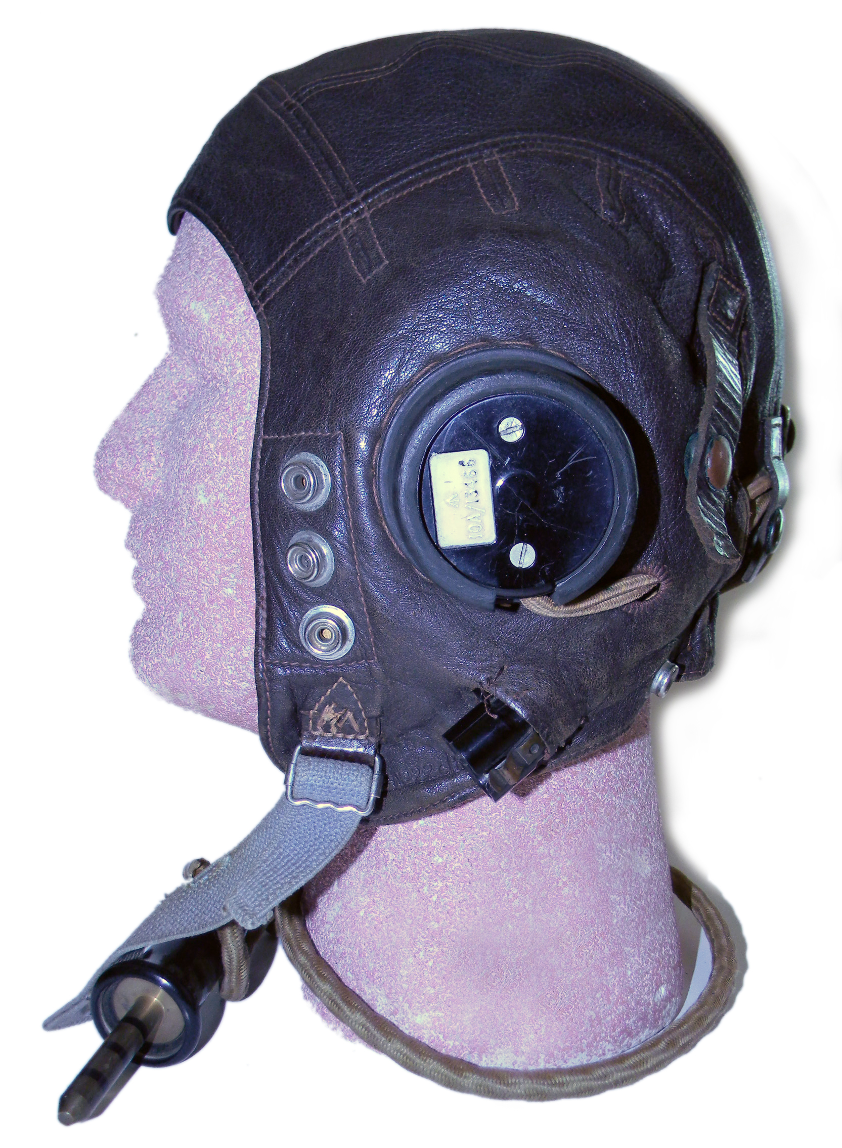 RAF Type C helmet, wired