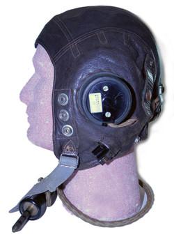 RAF Type C helmet, wired