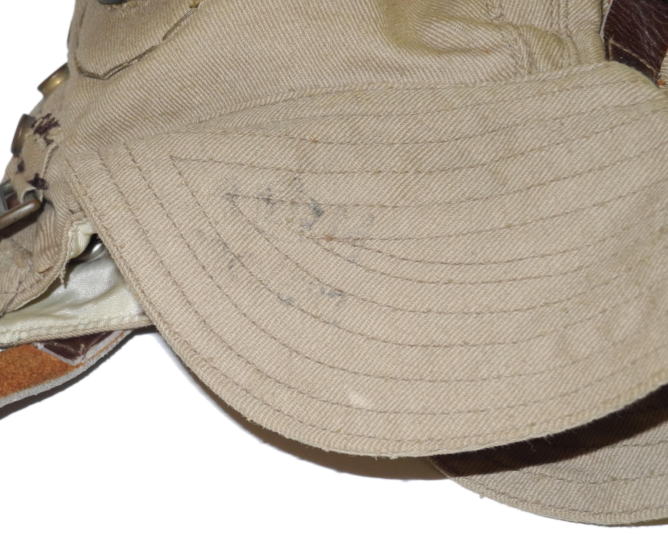 RAF first pattern Type D helmet