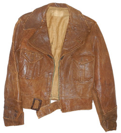 Chinese Air Force painted flying jacket