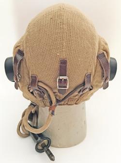 RAF Type E Airtex summer flying helmet