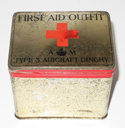 RAF Dinghy First Aid Outfit Type 3 (empty)