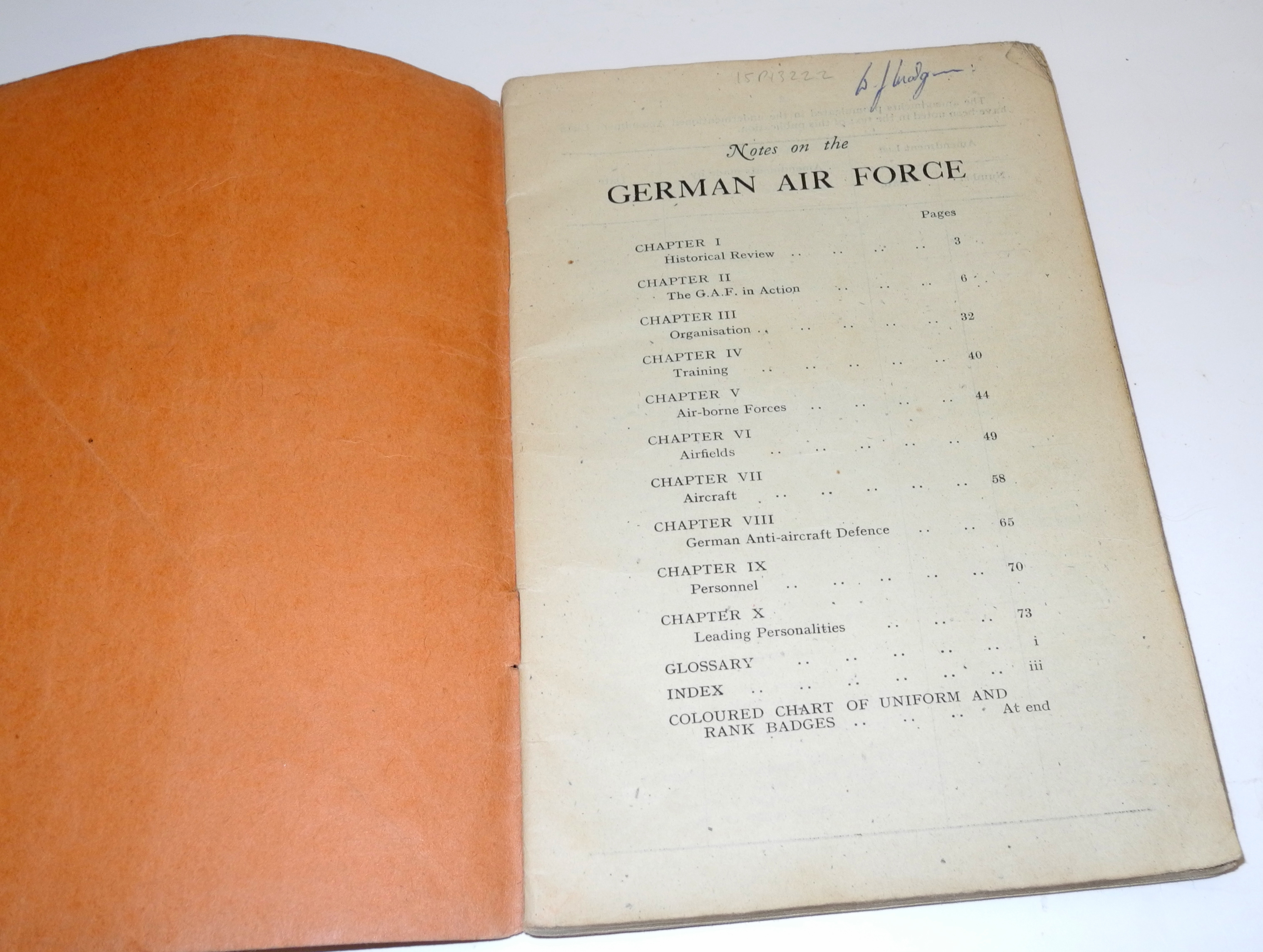 Air Ministry Air Publication AP1928