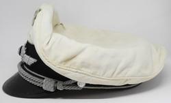 Luftwaffe officer's summer white top visor cap