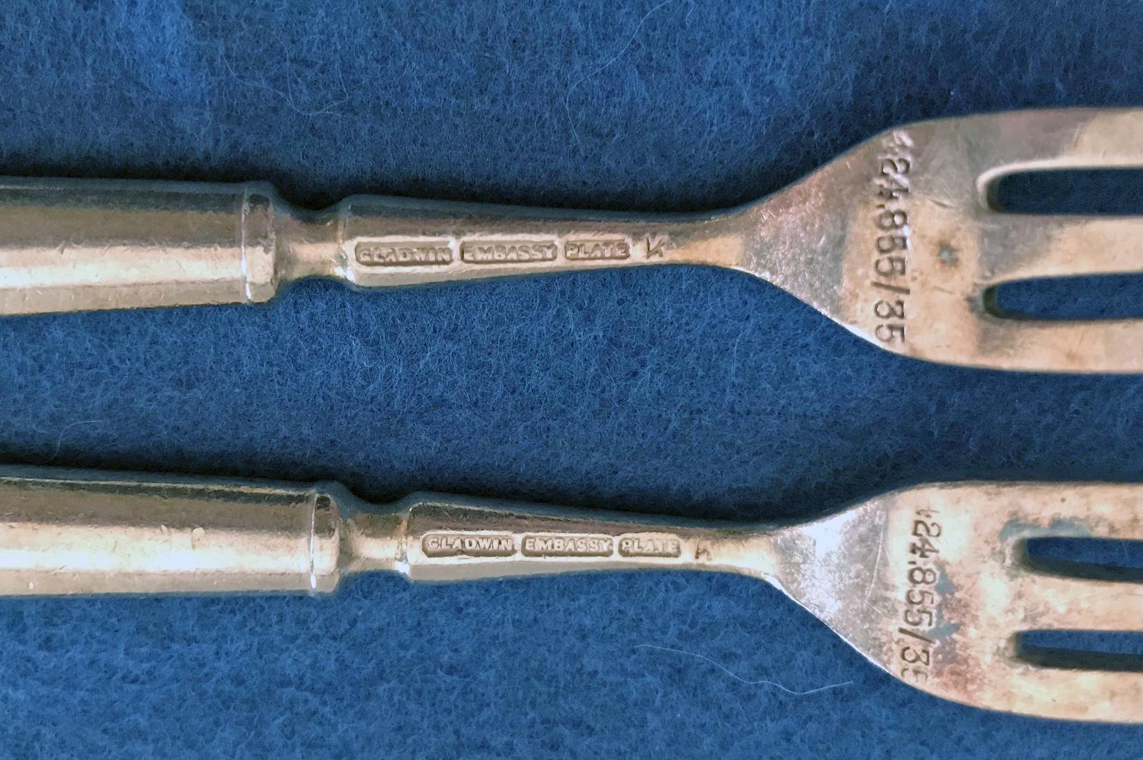 RAF Cocktail Fork 1935-Gladwin