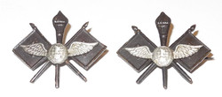 WWI US Air Service collar devices, made in France