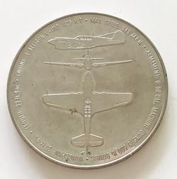 AAF P-40 Warhawk Challenge Coin