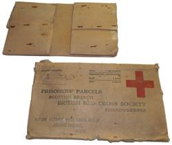 WWII P.O.W. Red Cross parcel box