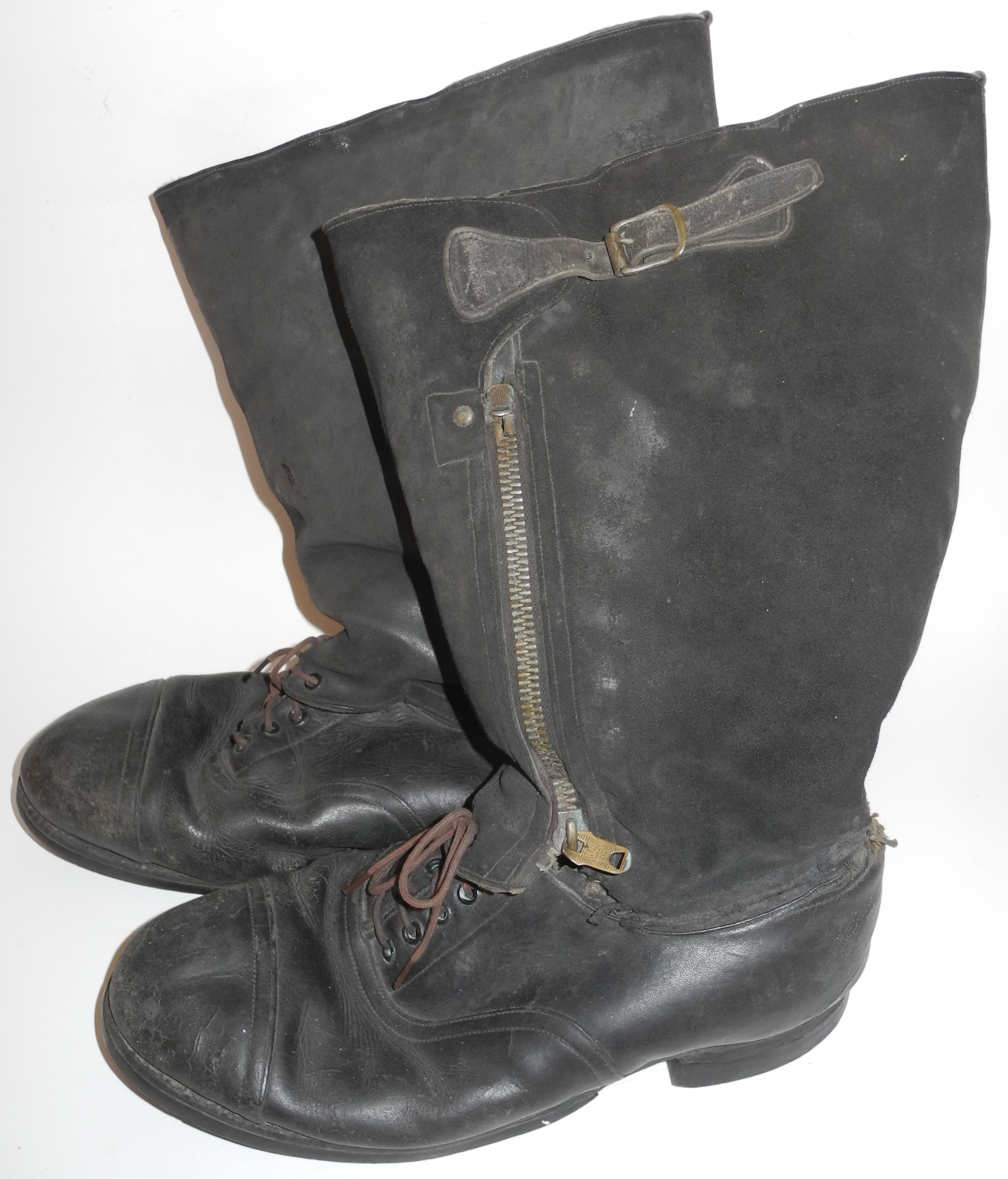 RAF 1943 escape boots with history