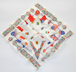 Silk VICTORY handkerchief