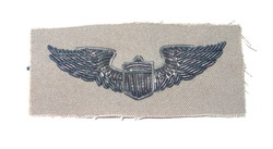 AAF pilot wing bulliion