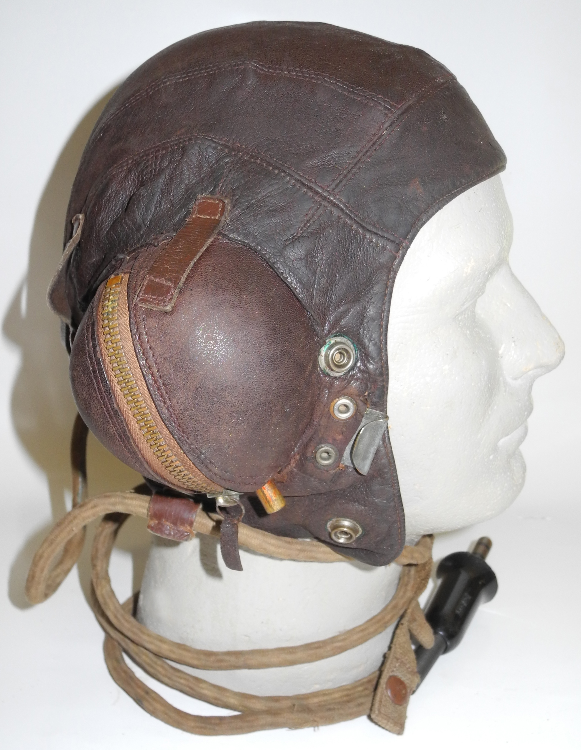 RN Fleet Air Arm Type C helmet wired