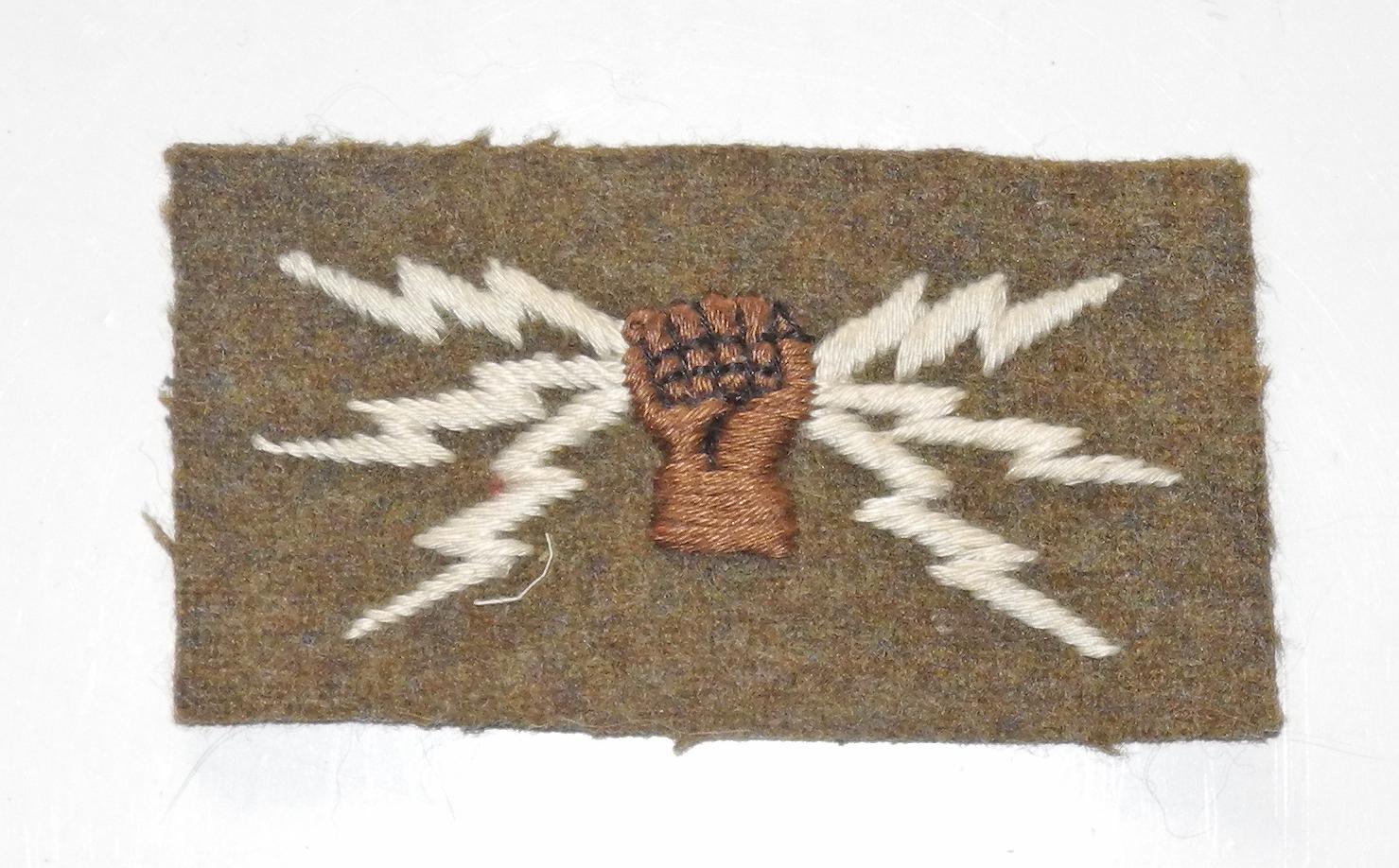 RFC / early RAF Wireless operator badge
