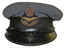 1918 RAF blue officer's cap