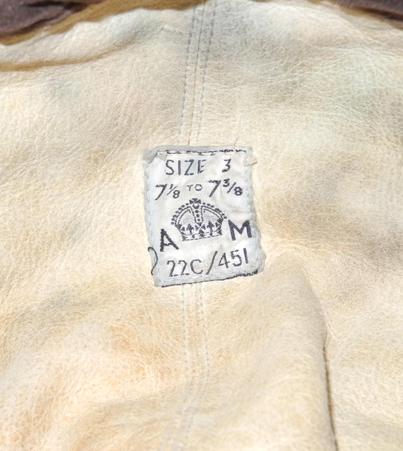 RAF 1st pattern Type C size 3 - $450
