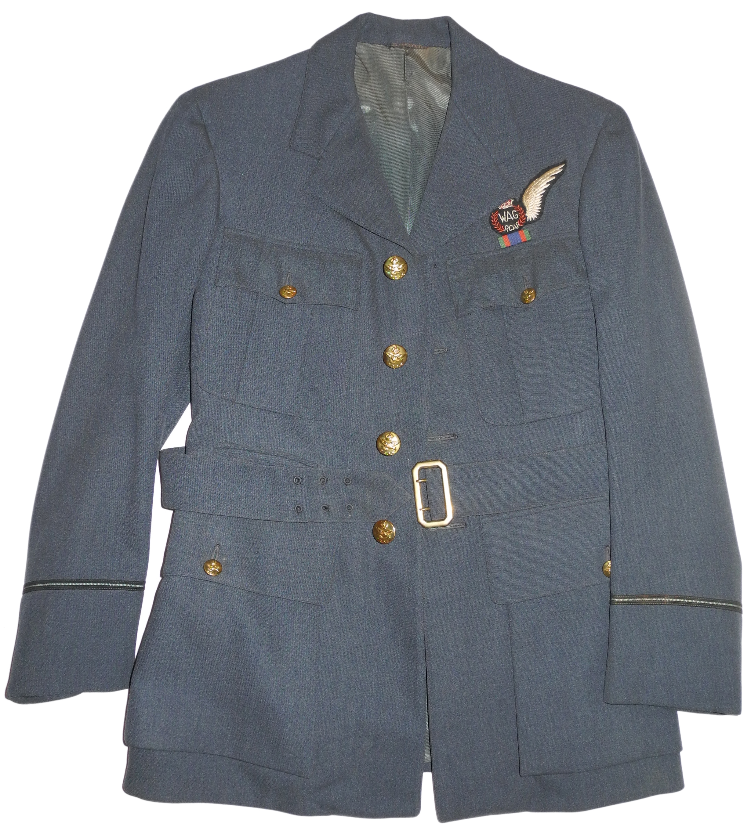 US made RCAF officer's service dress tunic with WAG wing