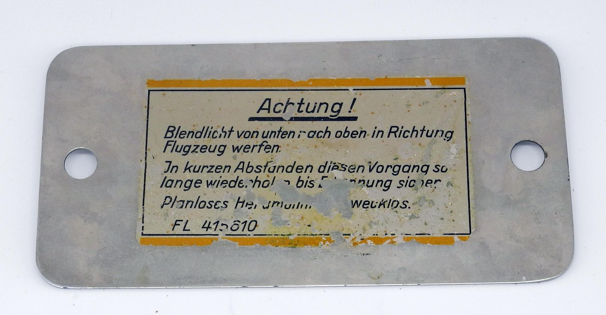 Luftwaffe Blendspiegel / mirror