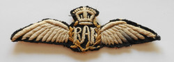 1918 RAF pilot wing brevet
