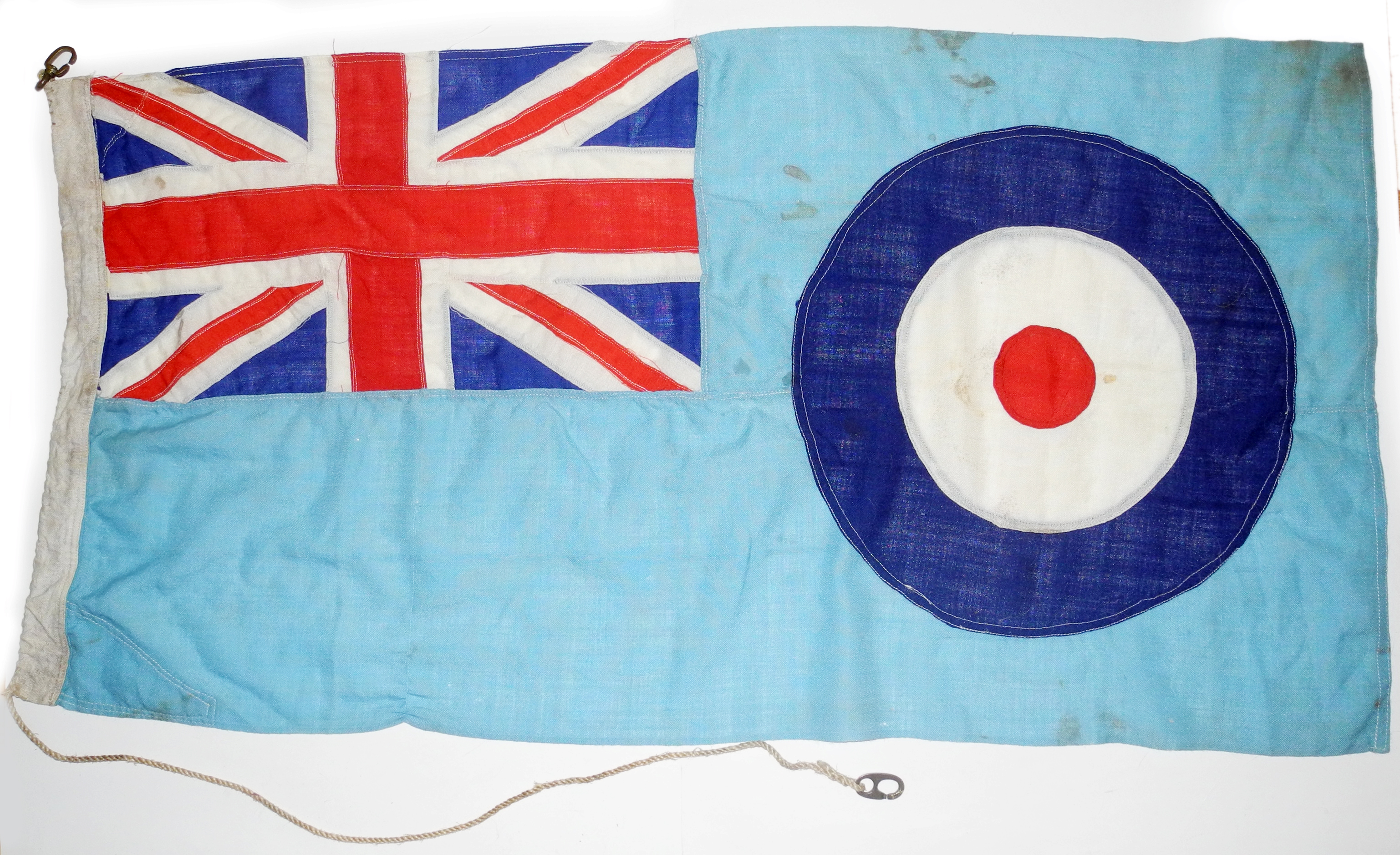 "RAF ensign ""duster"" ASR launch"