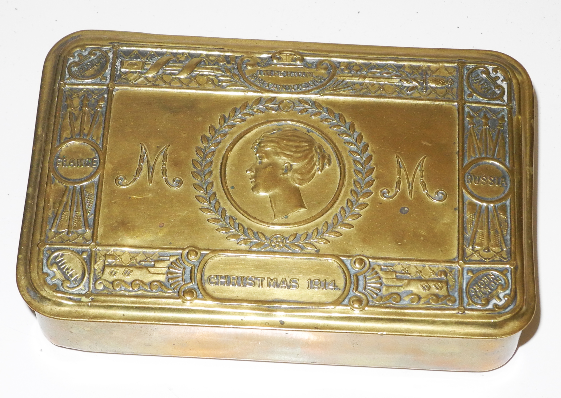 Princess Mary Christmas Gift Chocolate tin 1914