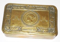 Princess Mary Christmas Gift Chocolate tin 1914