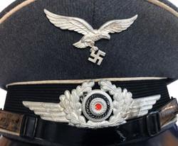 Luftwaffe enlisted man's visor cap for the esteemed Hermann Göring Division