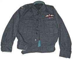 RCAF battledress blouse and trousers
