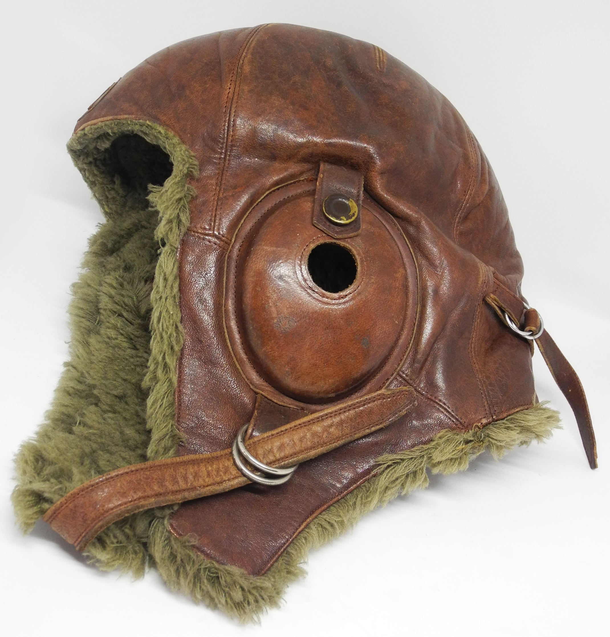 Japanese Army winter flying helmet