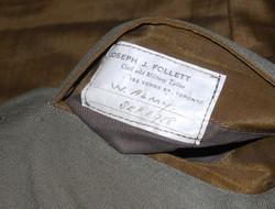 RFC pilot's Maternity uniform tunic
