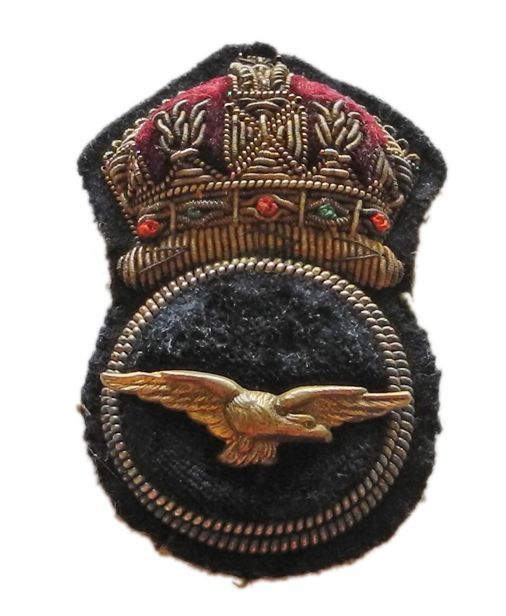 RNAS CPO's cap badge
