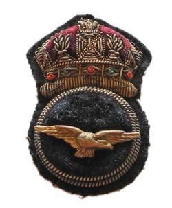RNAS CPO's cap badge